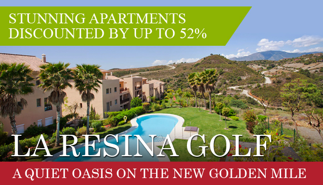 Stunning apartment discounted by up to 52% - La Resina Golf - a quiet oasis on the new golden mile